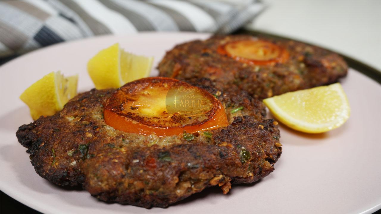 Mutton Chapli Kabab