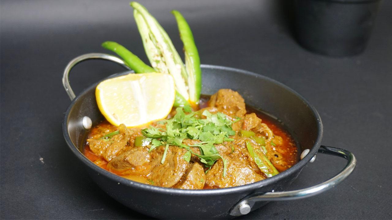 Mutton Kaleji Masala (Mutton Liver)