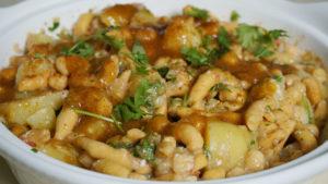 Spicy Aloo Chana Chaat