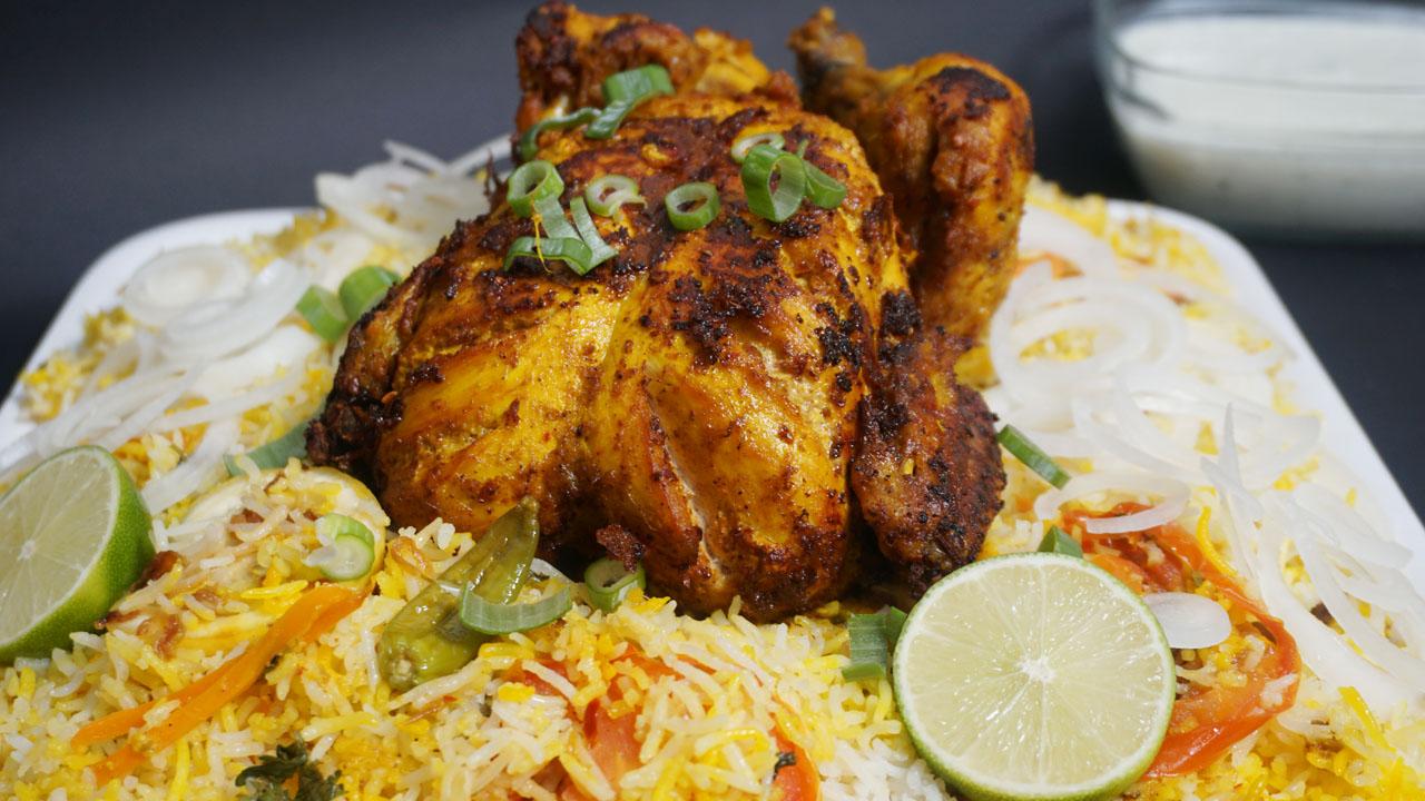 Whole Chicken Biryani