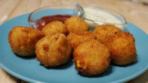 Potato & Corn Cheese Balls