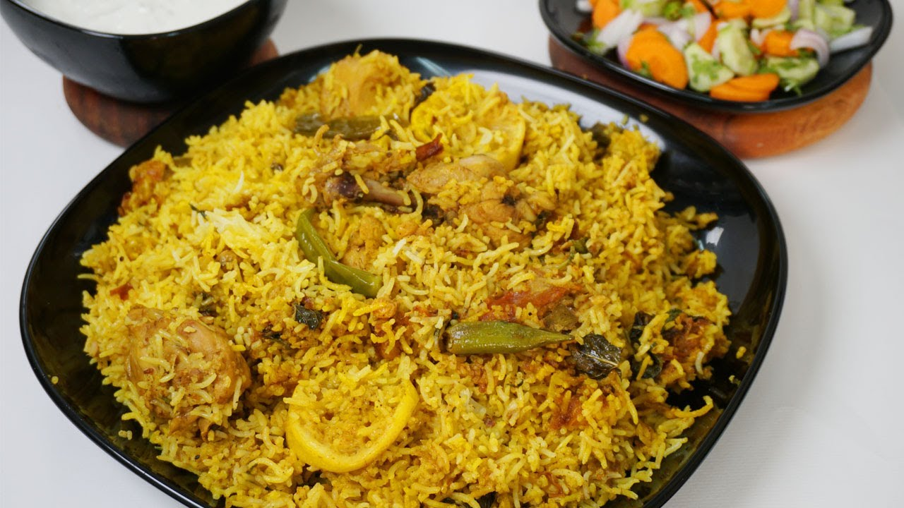 Chicken Biryani Masala With Homemade Biryani Masala
