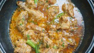 Creamy Chicken Karahi