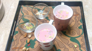 Kashmiri Chai / Tea Recipe / Pink Tea
