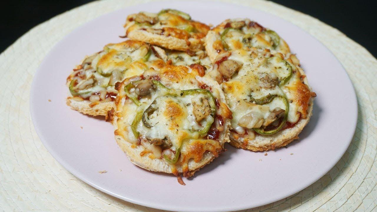 Mini Bread Pizza