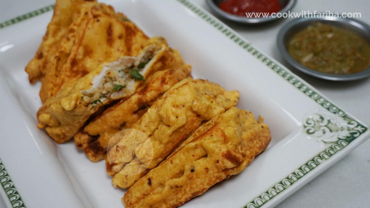 Bread Pakora | Fried Aloo Sandwich | Ramadan Special