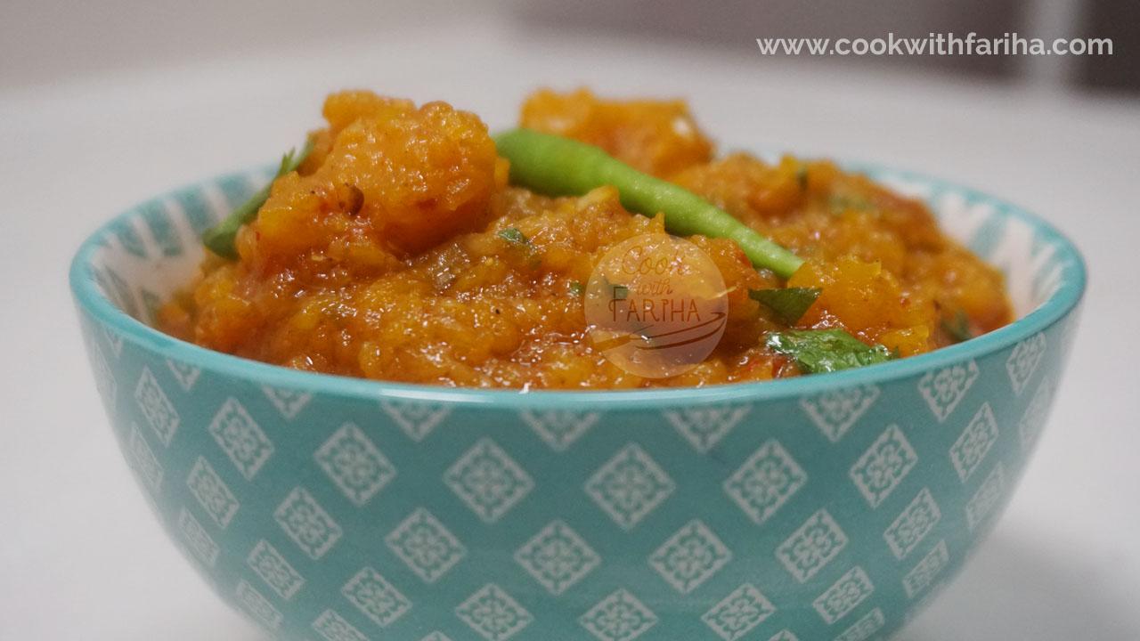 Halwa Kaddu (Pumpkin) Ramadan Special