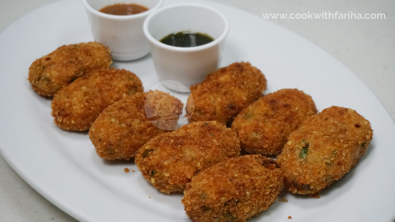 Crispy Aloo Chicken Cutlets | Ramadan Special Recipe