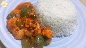 Chicken Shanghai With Rice