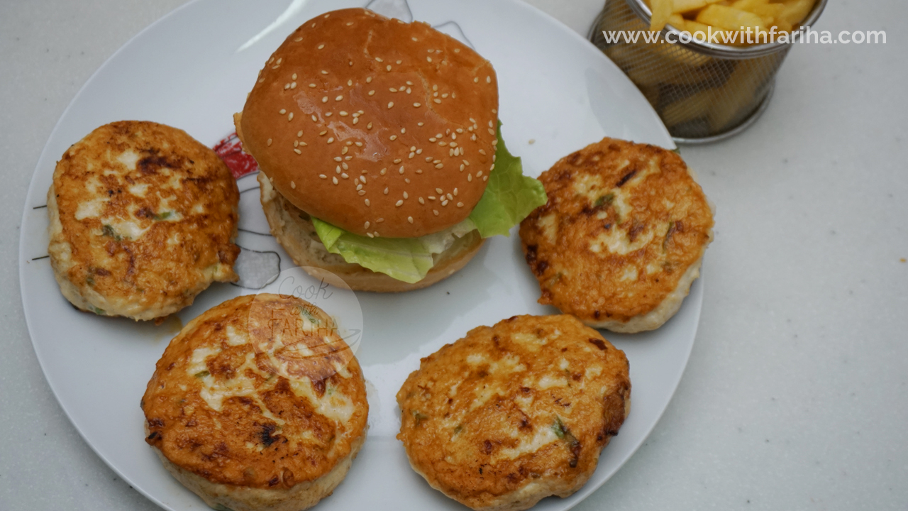 Chicken Burger Patties | Kids Special | Ramadan Special