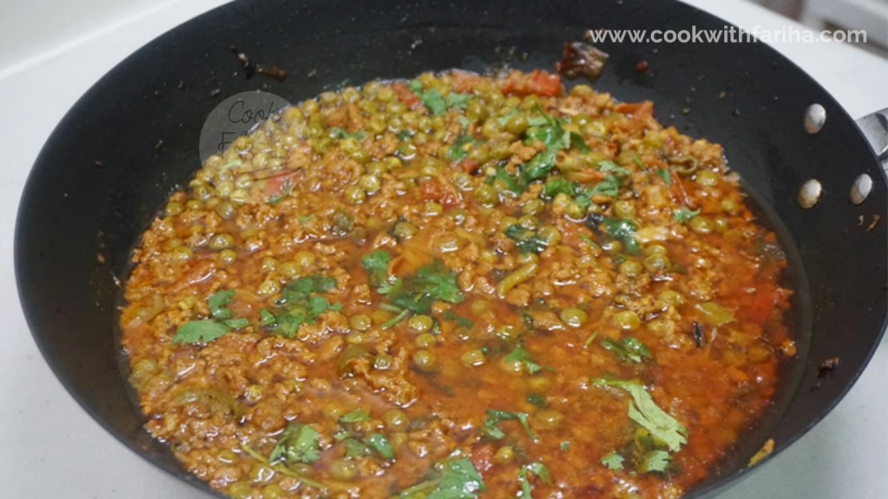 Matar Qeema Ramadan Special Recipe