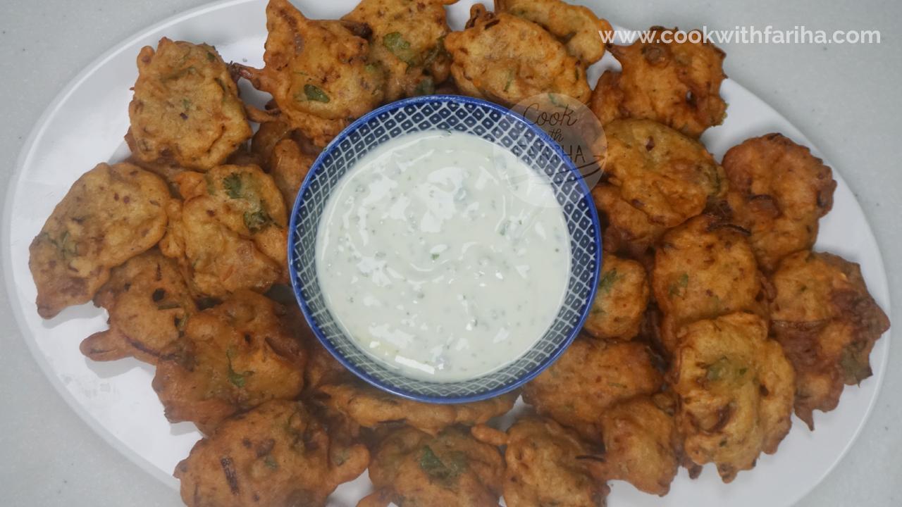 Moong Dal Pakoda / Pakoray   Ramadan Special Recipe