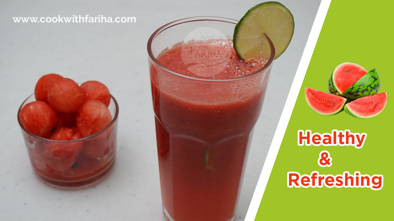 Healthy & Refreshing WaterMelon Juice