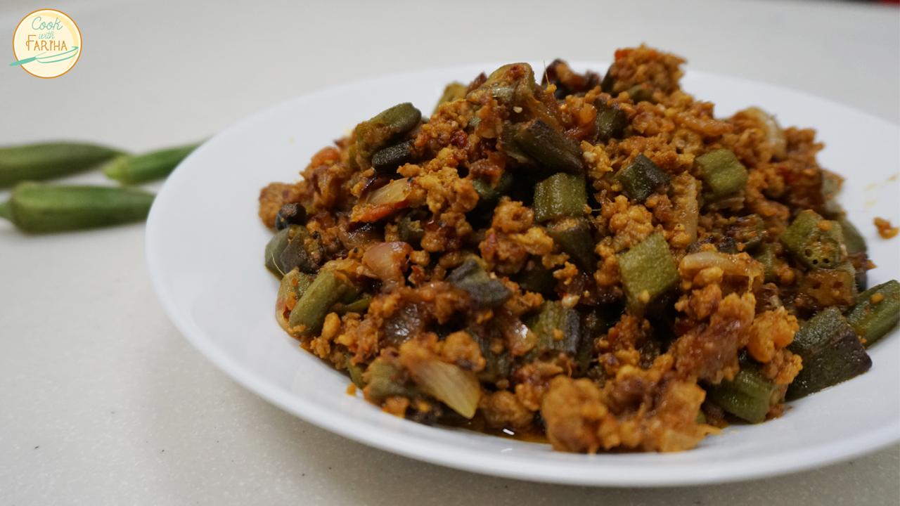 Bhindi Qeema