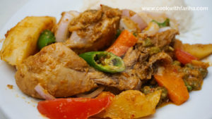 Steam Chicken With Vegetables