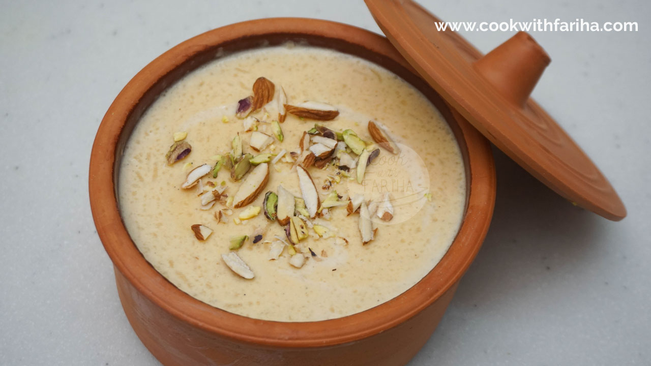 Simple Kheer – Eid Special