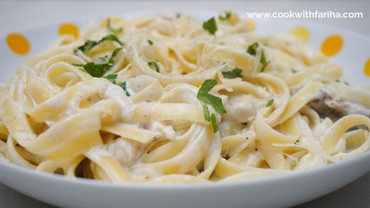 Chicken Fettuccine Alfredo Recipe