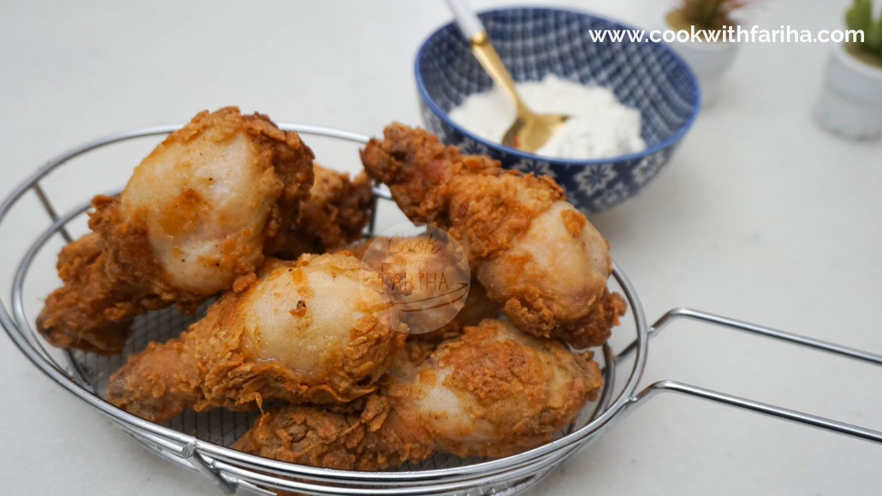 Crispy Chicken Drumsticks Recipe