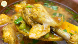 Matar Chicken Recipe